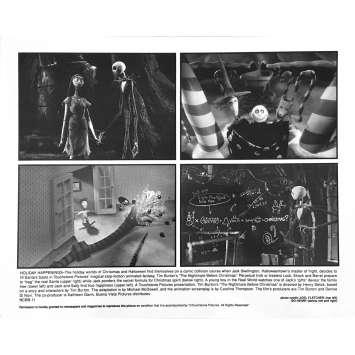 THE NIGHTMARE BEFORE CHRISTMAS Original Lobby Card NCBB-11 - 8x10 in. - 1993 - Tim Burton, Danny Elfman