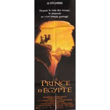 LE PRINCE D'EGYPTE Affiche de film - 60x160 cm. - 1998 - Val Kilmer, Brenda Chapman, Steve Hickner