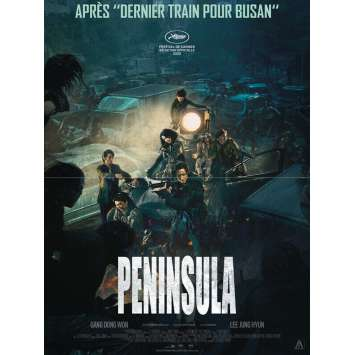 TRAIN TO BUSAN: PENINSULA Original Movie Poster - 15x21 in. - 2020 - Sang-ho Yeon, Dong-Won Gang