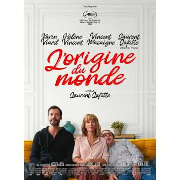L'ORIGINE DU MONDE Original Movie Poster - 15x21 in. - 2020 - Laurent Lafitte, Karin Viard