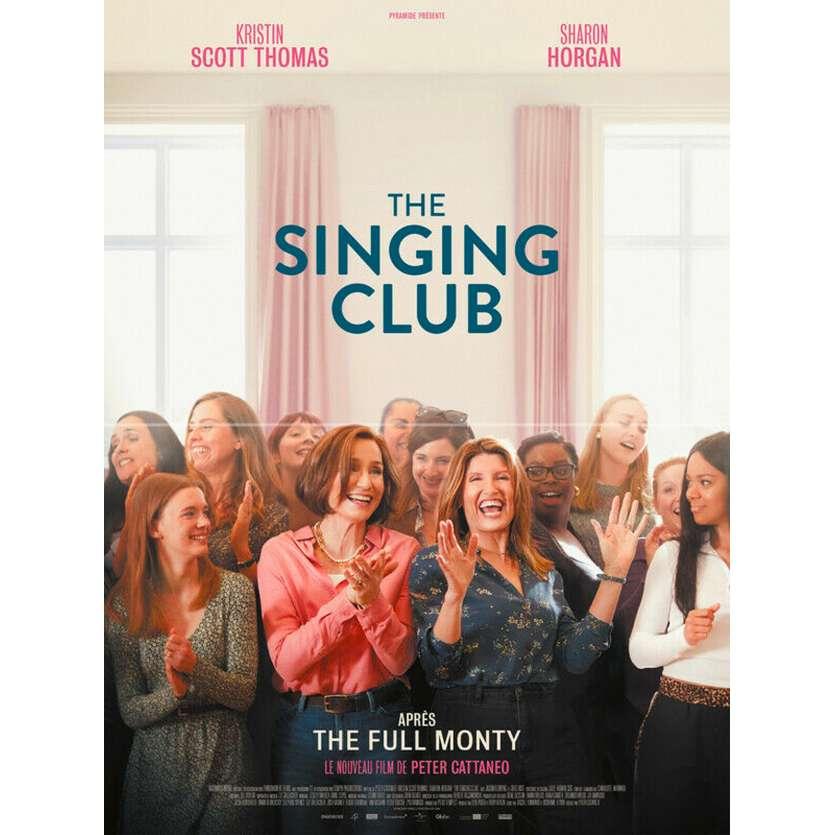 THE SINGING CLUB Affiche de film - 40x60 cm. - 2020 - Kristin Scott Thomas, Peter Cattaneo