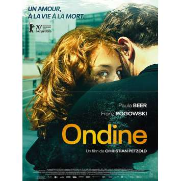 UNDINE Original Movie Poster - 15x21 in. - 2020 - Christian Petzold, Paula Beer