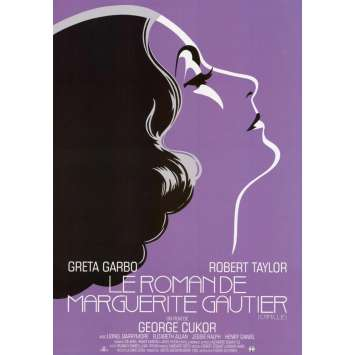 CAMILLE Original Movie Poster - 15x21 in. - R2020 - George Cukor, Great Garbo
