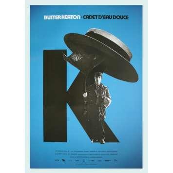 STEAMBOAT BILL JR Original Movie Poster - 15x21 in. - R2020 - Charles Reisner, Buster Keaton