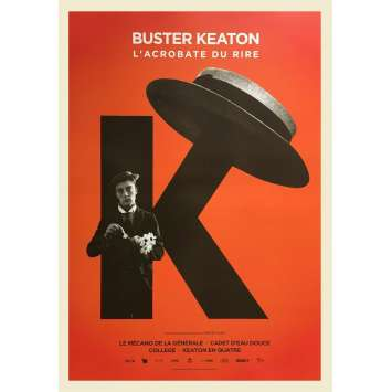 L'ACROBATE DU RIRE Original Movie Poster - 15x21 in. - R2020 - Buster Keaton, Buster Keaton