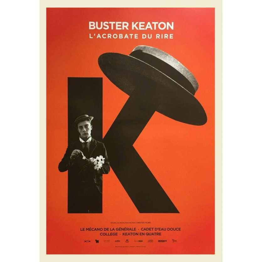 L'ACROBATE DU RIRE Affiche de film - 40x60 cm. - R2020 - Buster Keaton, Buster Keaton