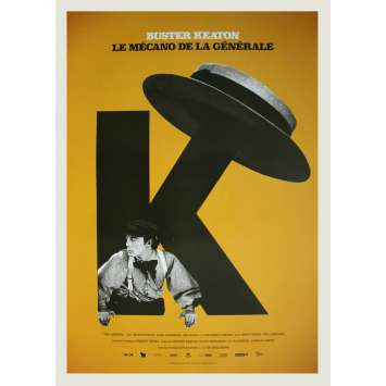 THE GENERAL Original Movie Poster - 15x21 in. - R2020 - Buster Keaton, Marion Mack
