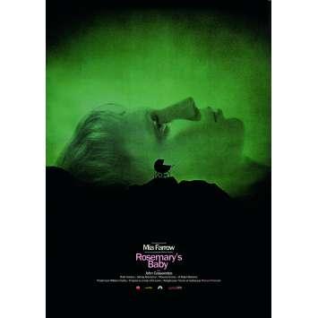 ROSEMARY'S BABY Affiche de film - 40x60 cm. - R2010 - Mia Farrow, Roman Polanski