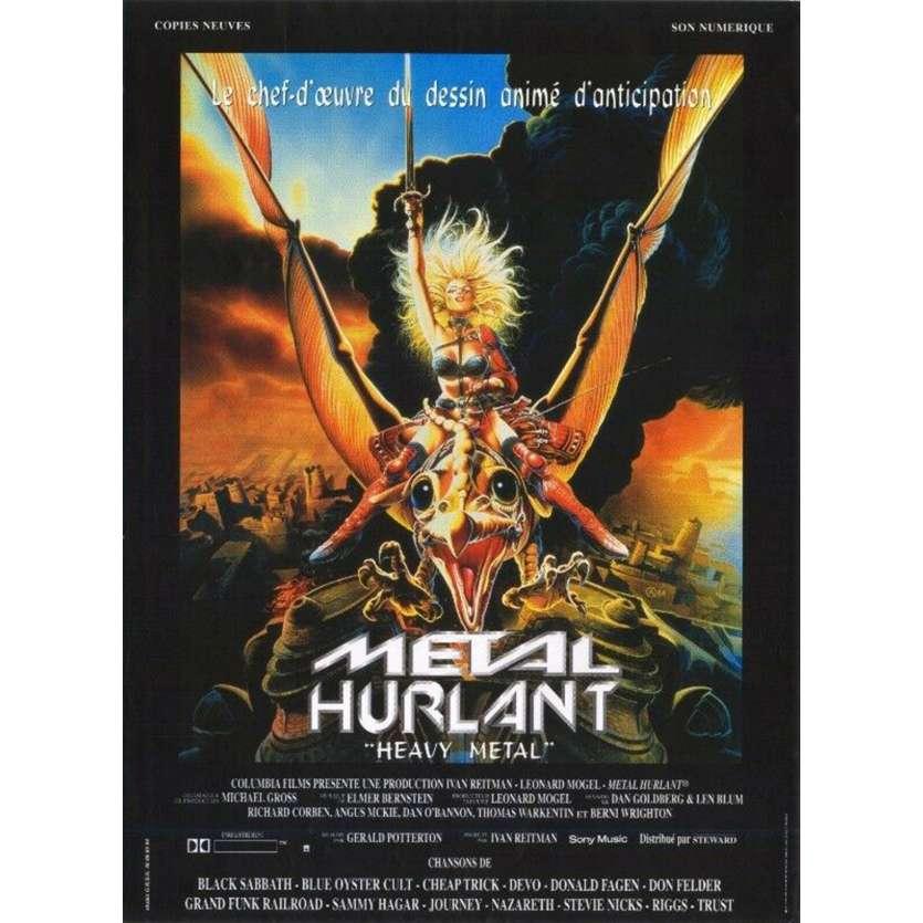 METAL HURLANT Affiche de film - 40x60 cm. - R1980 - John Candy, Gerald Potterton