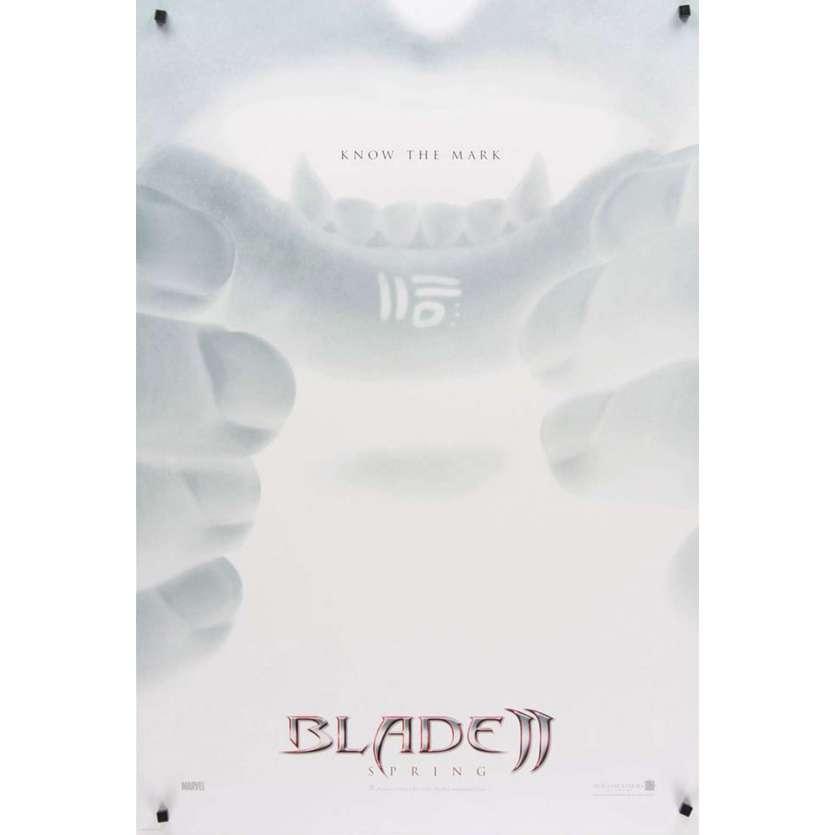 Mauvais-genres.com BLADE 2 Wesley Snipes Affiche du film USA 2002 Affiches cinéma