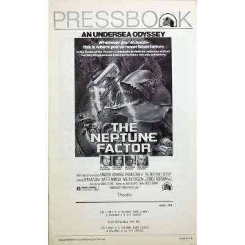 Mauvais-genres.com L'ODYSSEE SOUS LA MER Horreur Dossier de presse 1973 USA Dossiers de presse