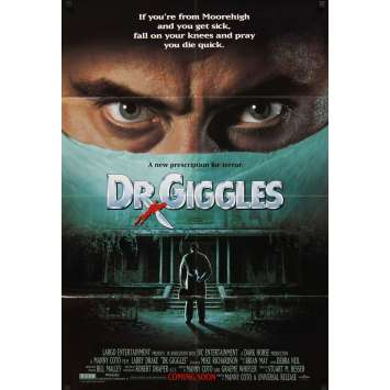 DR. RICTUS Affiche US '92 Horreur, Original Movie Poster