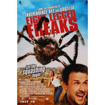 EIGHT LEGGED FREAKS 1sh Movie Poster '02 David Arquette, Scarlett Johansson Spiders