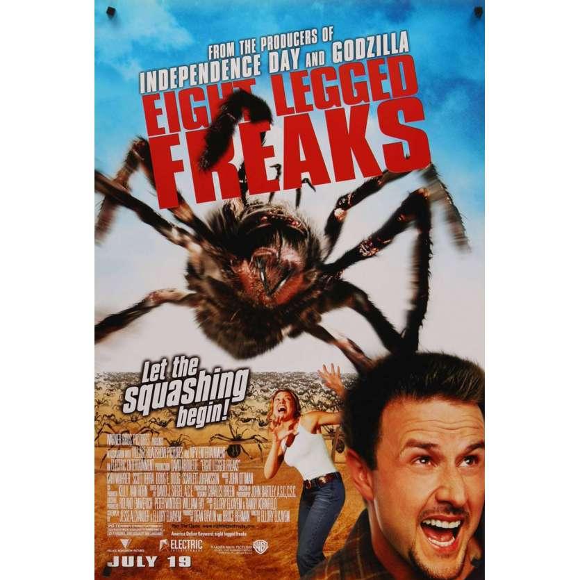EIGHT LEGGED FREAKS 1sh Movie Poster '02 David Arquette, Scarlett Johansson Spiders