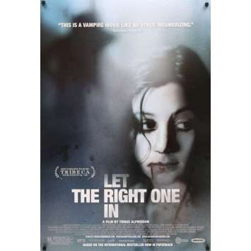 LET THE RIGHT ONE IN 1sh Movie Poster '08 Alfredson's Lat den ratte komma in