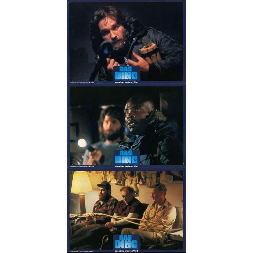 THE THING Lobby cards DE '83 John Carpenter, Kurt Russel
