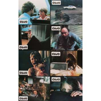 CUJO 8 French LCs '83 Stephen King novel, Dee Wallace, Daniel Hugh-Kelly, Danny Pintauro!