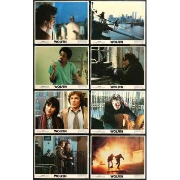 WOLFEN Photos de film x8 - 28x36 cm. - 1981 - Albert Finney, Michael Wadleigh