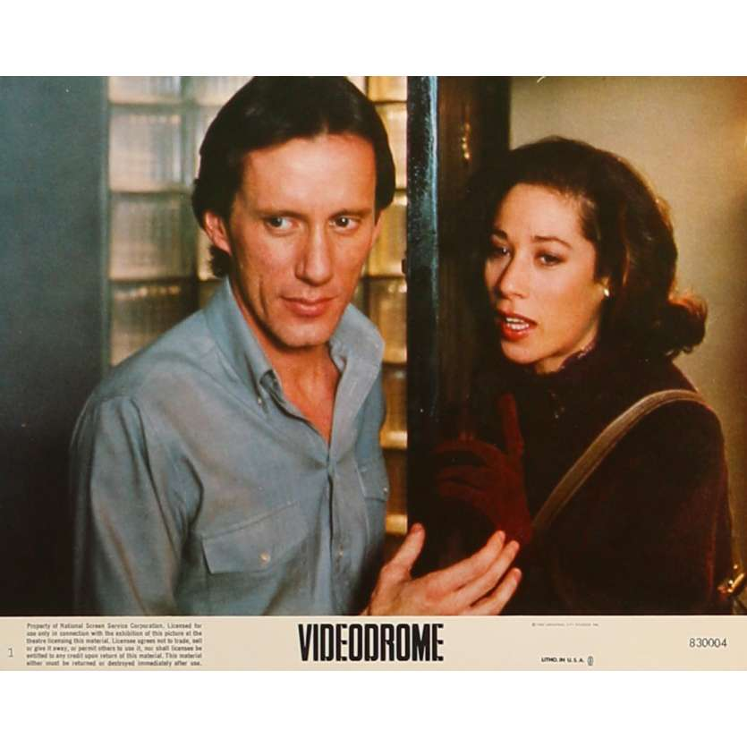 VIDEODROME Photo de film N1 - 20x25 cm. - 1983 - James Woods, David Cronenberg