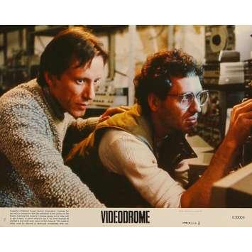 VIDEODROME Original Lobby Card N2 - 8x10 in. - 1983 - David Cronenberg, James Woods