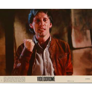 VIDEODROME Original Lobby Card N3 - 8x10 in. - 1983 - David Cronenberg, James Woods