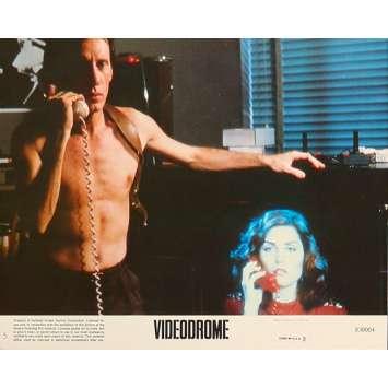 VIDEODROME Original Lobby Card N5 - 8x10 in. - 1983 - David Cronenberg, James Woods