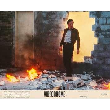 VIDEODROME Original Lobby Card N6 - 8x10 in. - 1983 - David Cronenberg, James Woods