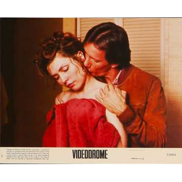 VIDEODROME Original Lobby Card N8 - 8x10 in. - 1983 - David Cronenberg, James Woods