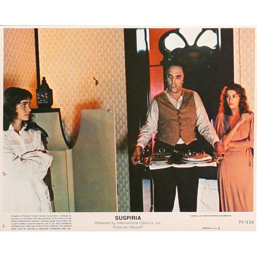 SUSPIRIA Original Lobby Card N2 - 8x10 in. - 1977 - Dario Argento, Jessica Harper