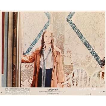 SUSPIRIA Original Lobby Card N4 - 8x10 in. - 1977 - Dario Argento, Jessica Harper