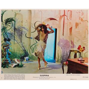 SUSPIRIA Photo de film N7 - 20x25 cm. - 1977 - Jessica Harper, Dario Argento