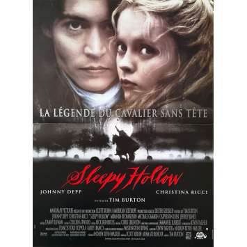 SLEEPY HOLLOW Original Movie Poster - 15x21 in. - 1999 - Tim Burton, Johnny Depp