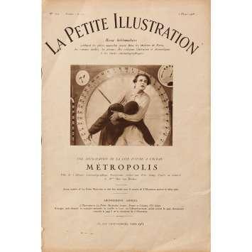 METROPOLIS Magazine N1 - 21x30 cm. - 1927 - Brigitte Helm, Fritz Lang