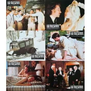 LE FANTOME DE MILBURN Photos de film x6 - 21x30 cm. - 1981 - Fred Astaire, John Irvin