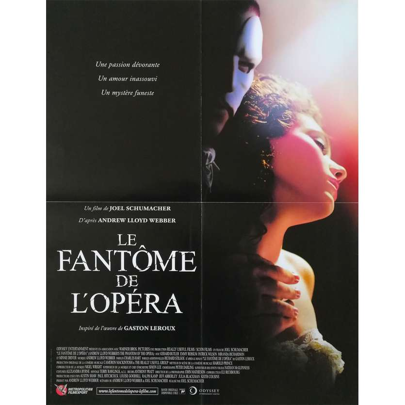 LE FANTOME DE L'OPERA Affiche de film - 40x60 cm. - 1962 - Herbert Lom, Ternce Fisher