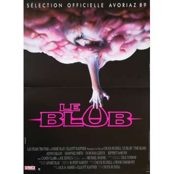 THE BLOB Original Movie Poster - 15x21 in. - 1988 - Chuck Russel, Kevin Dillon