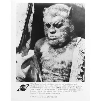 LA NUIT DU LOUP-GAROU Photo de presse TV - 20x25 cm. - R1980 - Oliver Reed, Terence Fisher