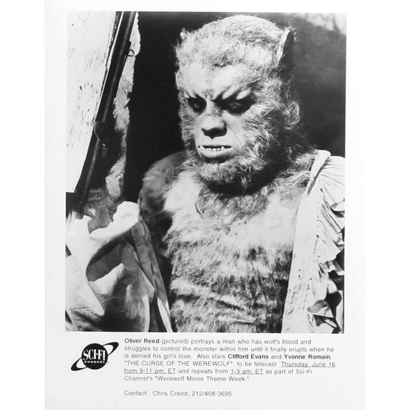 LA NUIT DU LOUP-GAROU Photo de presse TV - 20x25 cm. - R1980 - Oliver Reed, Terence Fisher