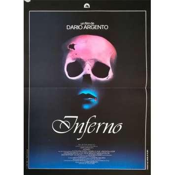 INFERNO Original Movie Poster - 15x21 in. - 1980 - Dario Argento, Daria Nicolodi