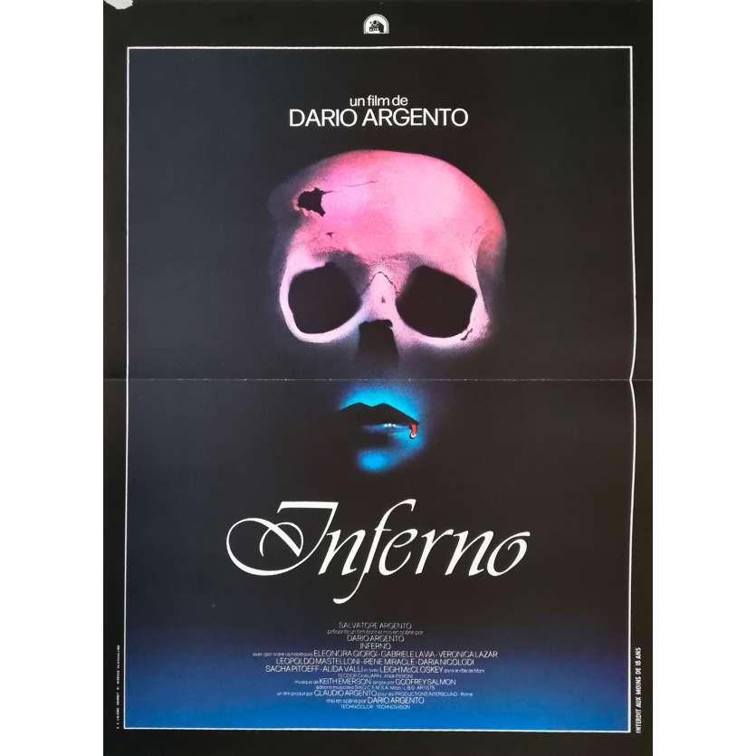 INFERNO Affiche de film - 40x60 cm. - 1980 - Daria Nicolodi, Dario Argento