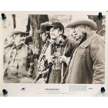 HURLEMENTS Photo de presse TH-5 - 20x25 cm. - 1981 - Patrick McNee, Joe Dante