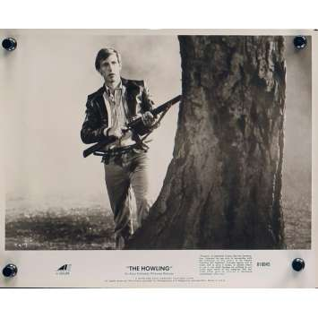 HURLEMENTS Photo de presse TH-9 - 20x25 cm. - 1981 - Patrick McNee, Joe Dante