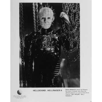 HELLRAISER 2 Photo de presse N07 - 20x25 cm. - 1988 - Doug Bradley, Tony Randel