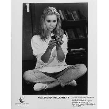 HELLRAISER 2 Photo de presse N01 - 20x25 cm. - 1988 - Doug Bradley, Tony Randel