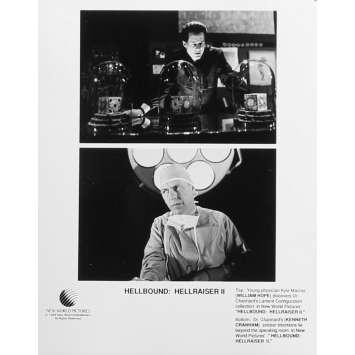 HELLRAISER 2 Photo de presse N08 - 20x25 cm. - 1988 - Doug Bradley, Tony Randel