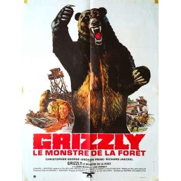 GRIZZLY LE MONSTRE DE LA FORET Affiche de film - 60x80 cm. - 1976 - Christopher George, William Girdler