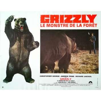 GRIZZLY LE MONSTRE DE LA FORET Photo de film - 21x30 cm. - 1976 - Christopher George, William Girdler