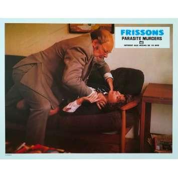 FRISSONS Photo de film N2 - 21x30 cm. - 1975 - Paul Hampton, David Cronenberg