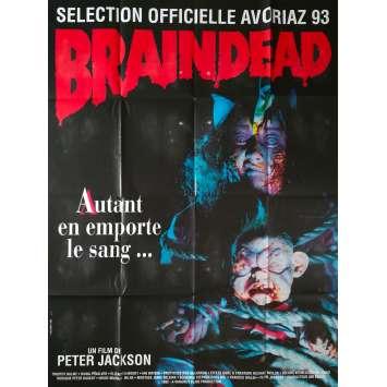 DEAD ALIVE Original Movie Poster - 47x63 in. - 1992 - Peter Jackson, Timothy Balme