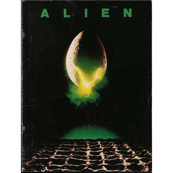 ALIEN Movie Program 9x12 in. - 1979 - Ridley Scott, Sigourney Weaver